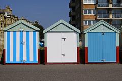 Hove beach huts
