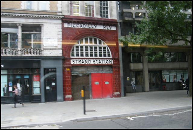 passing Strand Station