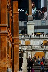An der Spanischen Treppe