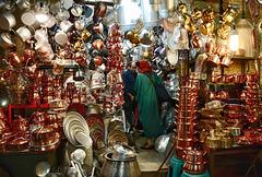 In the bazaar