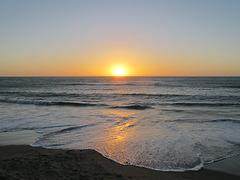 Sonnenuntergang die Erste