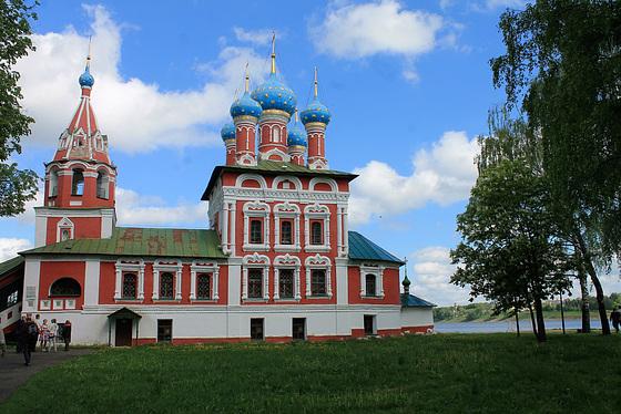 Eglise Saint-Dimitri-sur-le-Sang-Versé - Ouglitch - Russie