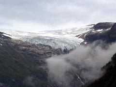 The Glacier above Fjærlandstunnelen