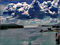 Seychelles : Costa Romantica è ormeggiata nel porto di Victoria