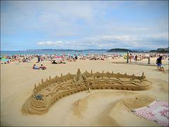 Maravillas en la playa.!!!