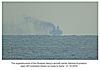 Russian aircraft carrier Admiral Kuznetsov off Cuckmere Haven - 21.10.2016