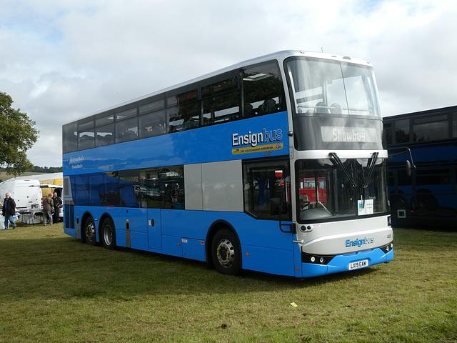 Ensign Bus 405 (LX19 EAW) at Showbus - 29 Sep 2019 (P1040656)