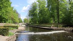 Ludwigslust,  der Große Kanal im Schlosspark