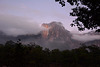 Sunrise over the Angel falls