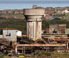 Steelworks water tower