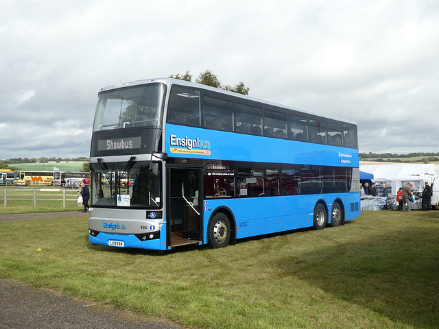 Ensign Bus 405 (LX19 EAW) at Showbus - 29 Sep 2019 (P1040654)