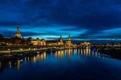 Dresden, Blick zum Terassenufer