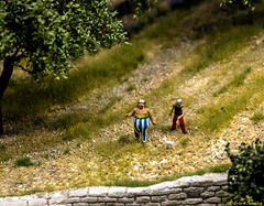 Asterix und Obelix in der Provence