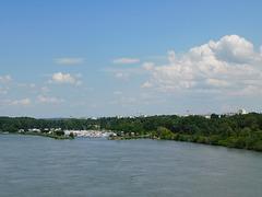 Le Port de l'Epervière depuis le Pont des Lones