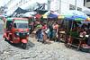 Guatemala, Street Market in the Small Town of San Pedro La Laguna