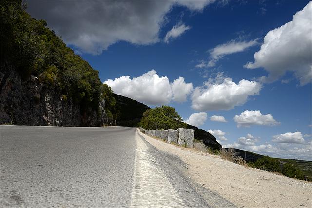 Serra da Arrábida, subindo