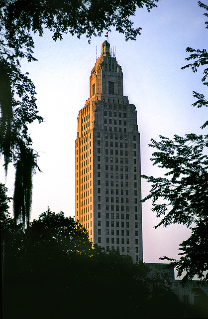 Louisiana State Captiol - 1986