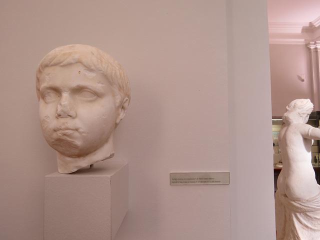 Musée archéologique de Split : Portrait de Néron César.