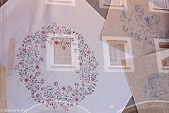 Blütenkranz fürs Fenster