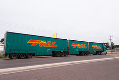 Road Train - a whole lot of truck.