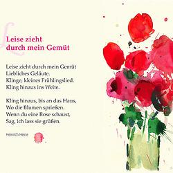 Heine: Leise zieht durch mein Gemüth (Tre mallaŭte tra la kor')
