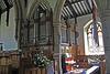 St Margaret, Hawes. Organ pipes