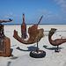 20140912 5252VRAw [NL] Skulptur, Terschelling