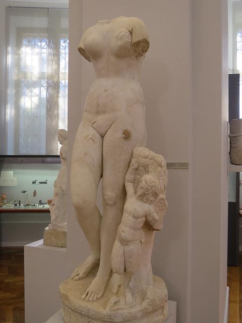 Musée archéologique de Split : Venus et Eros.