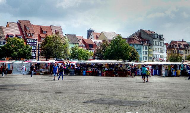 Markt auf dem Domplatz. ©UdoSm