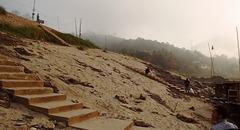 Escalier de rivage