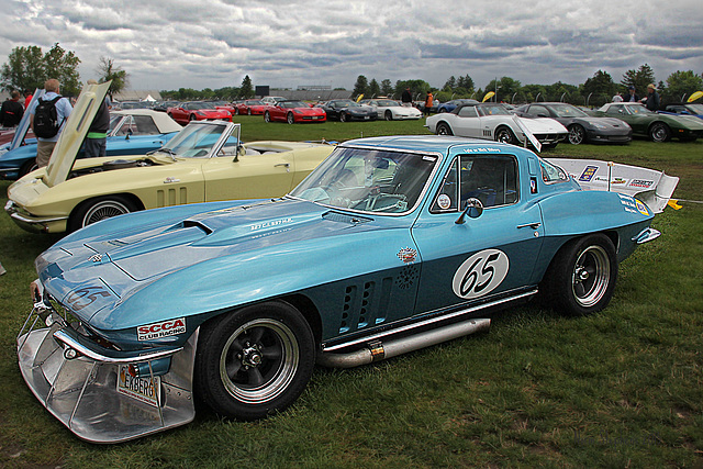 Bloominton Gold Corvette Show