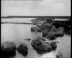 veliero naufragato al porto circeo