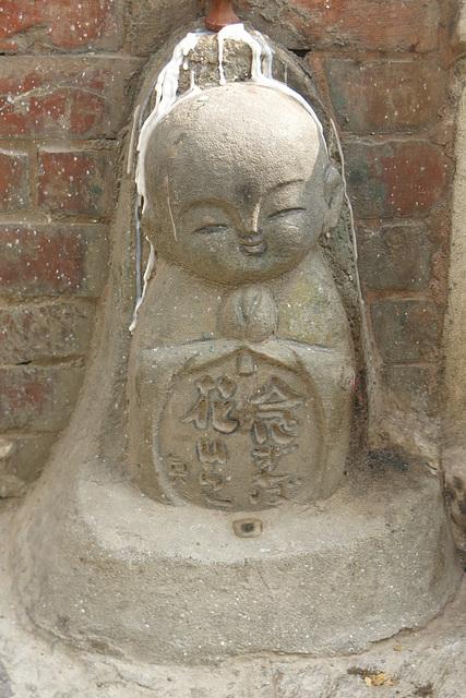Anachronique (Swayambunath = Swayambu), Kathmandu (Népal)