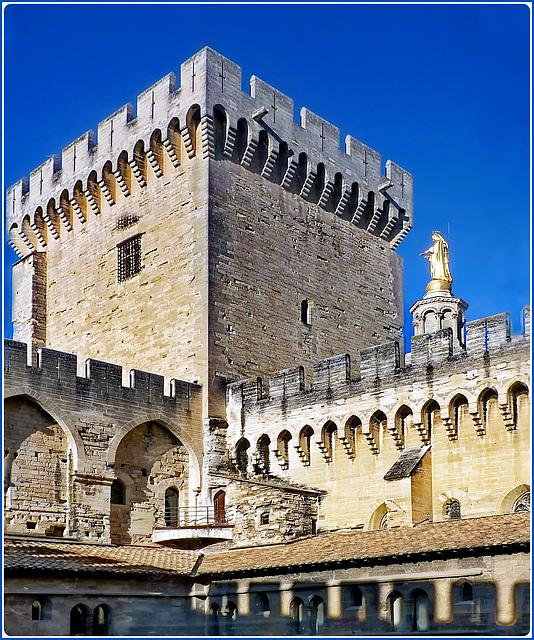 Avignon : Le palais des Papes