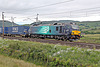 DRS  88005 MINERVA climbing Shap at Scout Green with 4S43 06.40 Daventry - Mossend  26th June 2021.