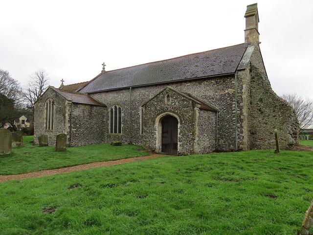 warham all saints church, norfolk