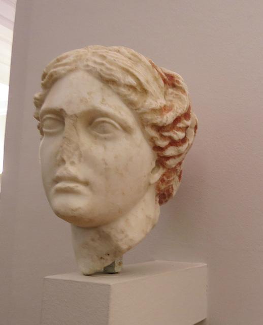 Musée archéologique de Split : Tête de Venus.