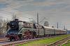 18 204 mit einem Sonderzug im Bahnhof Klaffenbach