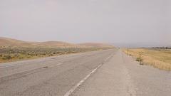 Route désertique / Desert road