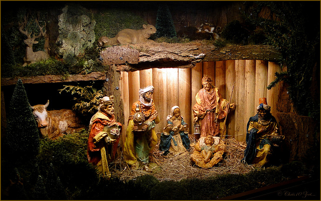 Nativity in Baarn, the Netherlands...