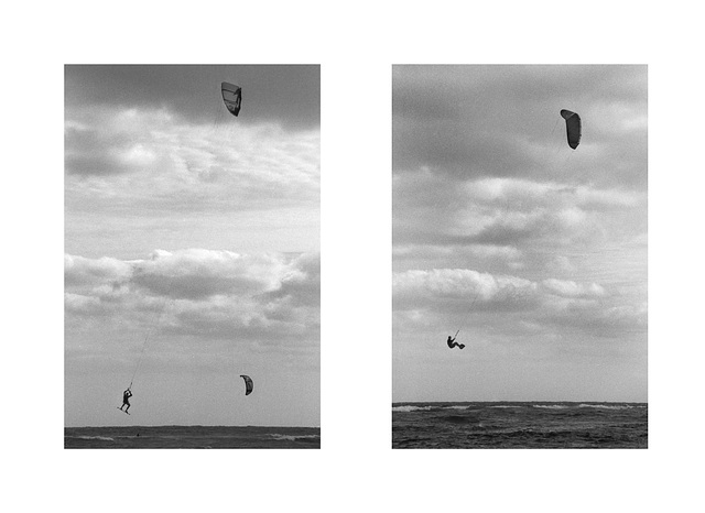 Wind Surfing Diptych