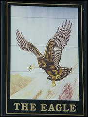 Eagle pub sign