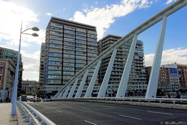 auf der Pont de l'Exposició (© Buelipix)