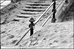 Steps, Swansea Bay.
