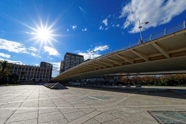 bei der Pont de l'Exposició (© Buelipix)