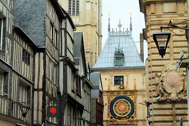Gros-Horloge - Rouen