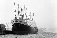 Diamantic Pateras im Steinwerder Hafen (?), Hafen Hamburg (1970)
