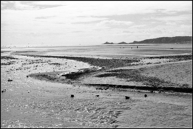 Swansea Bay. North towards The Mumbles.