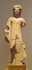 Statuette of a Kore from Eleusis in the National Archaeological Museum of Athens, May 2014