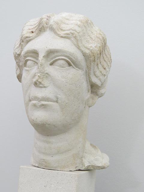 Musée archéologique de Split : buste féminin.